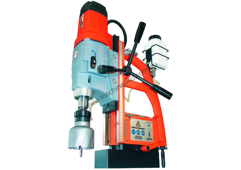 ALFRA EM 80 Magnetic Base Drill. 80mm Drilling Capacity. Made in Germany.