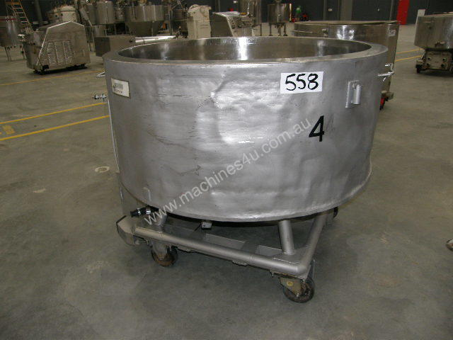 Stainless Steel Jacketed Tank - Capacity 700 Lt.