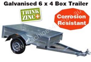 GALVANISED 6 X 4 BOX TRAILER