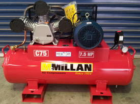 McMillan 33CFM Cast Iron Industrial Compressor - picture0' - Click to enlarge