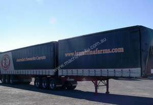 2006 KRUEGER B DOUBLE CURTAINSIDER / TAUTLINER