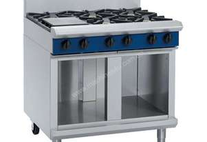 Blue Seal Evolution Series G516D-CB - 900mm Gas Cooktop - Cabinet Base