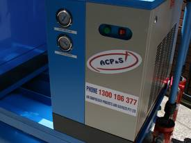 German Rotary Screw - Variable Speed Drive 30hp / 22kW Rotary Screw Air Compressor.. Power Savings - picture3' - Click to enlarge