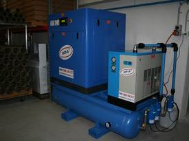 German Rotary Screw - Variable Speed Drive 30hp / 22kW Rotary Screw Air Compressor.. Power Savings - picture1' - Click to enlarge