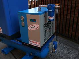 15hp / 11kW Rotary Screw Air Compressor Package with Tank, Dryer & Oil Removal Filters - picture8' - Click to enlarge
