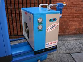 15hp / 11kW Rotary Screw Air Compressor Package with Tank, Dryer & Oil Removal Filters - picture10' - Click to enlarge