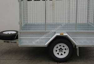 7 x 4 Heay Duty Galvanised Trailer with Mechanical