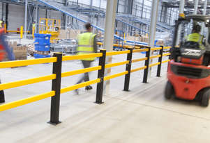 A-Safe Pedestrian and Forklift Separation Barriers