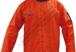 WC-05262 Promax HV5 Welding Jacket Size: L - Large 100% Cotton Specially Treated for Flame-Resistanc