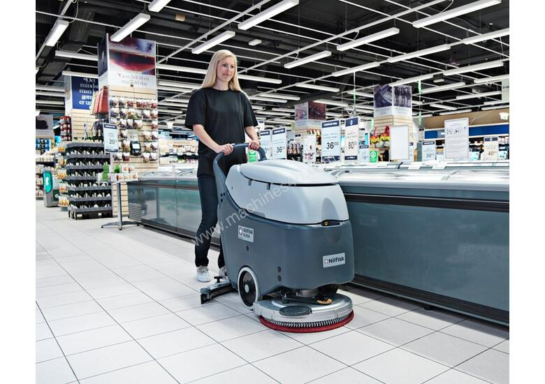 EOFY SALE - Nilfisk Walk Behind Scrubber/Dryer SC450