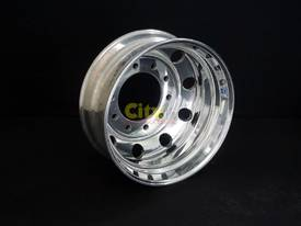 10/285 8.25x22.5 Alcoa Polished Drive Alloy Rim - picture0' - Click to enlarge