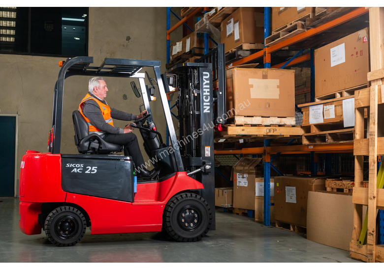New 2018 nichiyu FB25PN-77 Counterbalance Forklift in
