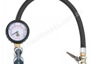 DIAL GAUGE INFLATOR 50 MM CLIP ON SWIVEL