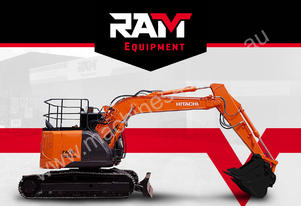 ZX 135US Excavator - LOW HOUR - BEST PRICE