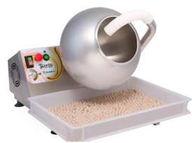 Pastaline Twirlo SS Bowl - 11L Coating Pan  - picture2' - Click to enlarge