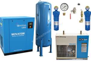 Senator 22 kW Air Compressor Professional Package