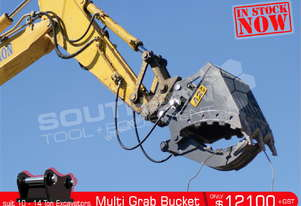 860mm Multi Grab Bucket 10-14Ton Excavator ATTGRAB