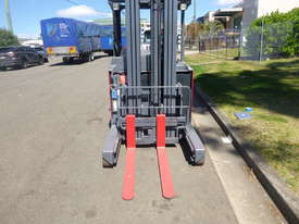 Refurbished Nichiyu Electric Stand On Reach Truck, Serviced, Battery with Warranty - picture2' - Click to enlarge