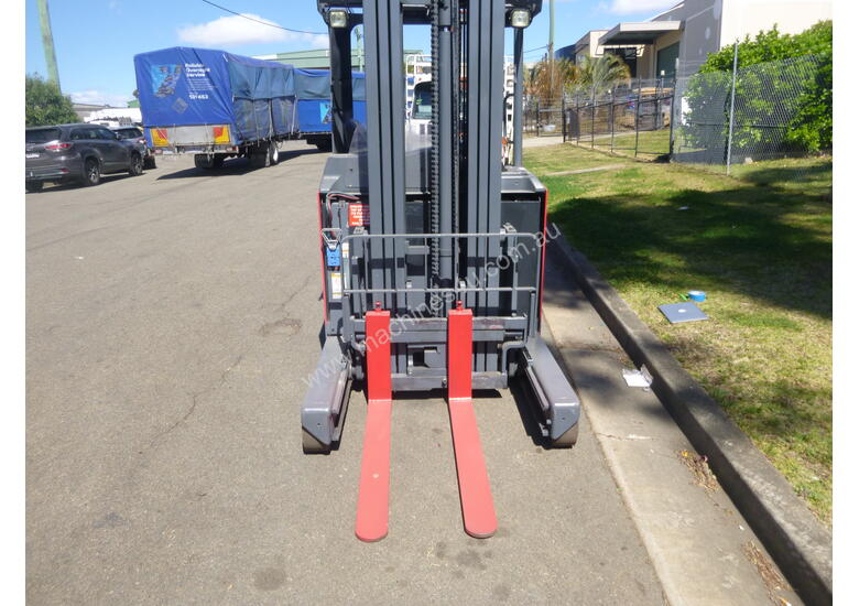 Refurbished Nichiyu Electric Stand On Reach Truck, Serviced, Battery with Warranty