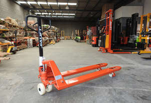 Length 1500mm Width 520mm Hand Pallet Jack/Truck Capacity 2.5t