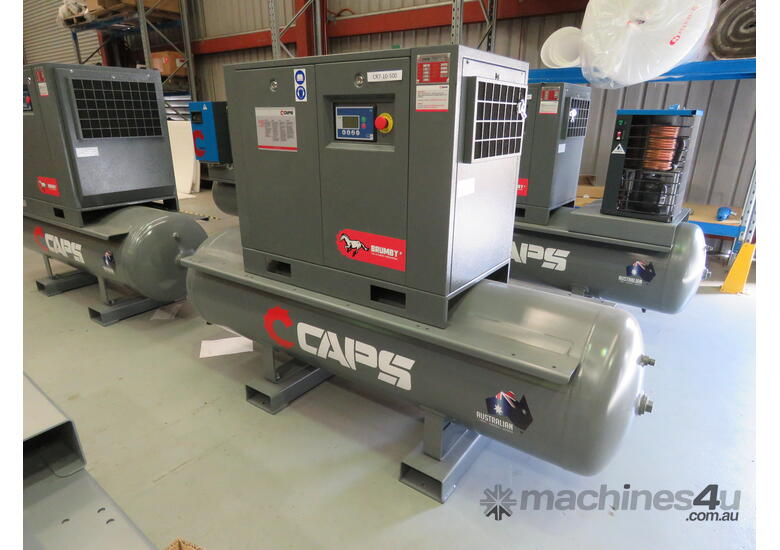 CAPS CR5-10 23cfm 5.5kW 10Bar Base mount Rotary Screw Air Compressor