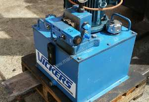 Vickers Hydraulic power pack