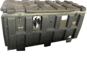 Storage Box Army Space Case Marine Blow Mould Plastic Chest