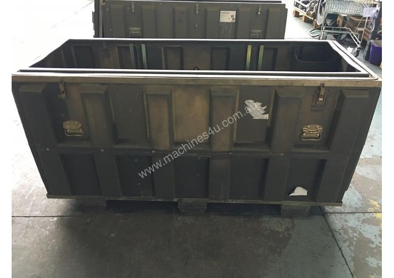 used trimcast storage box army space case marine blow mould plastic