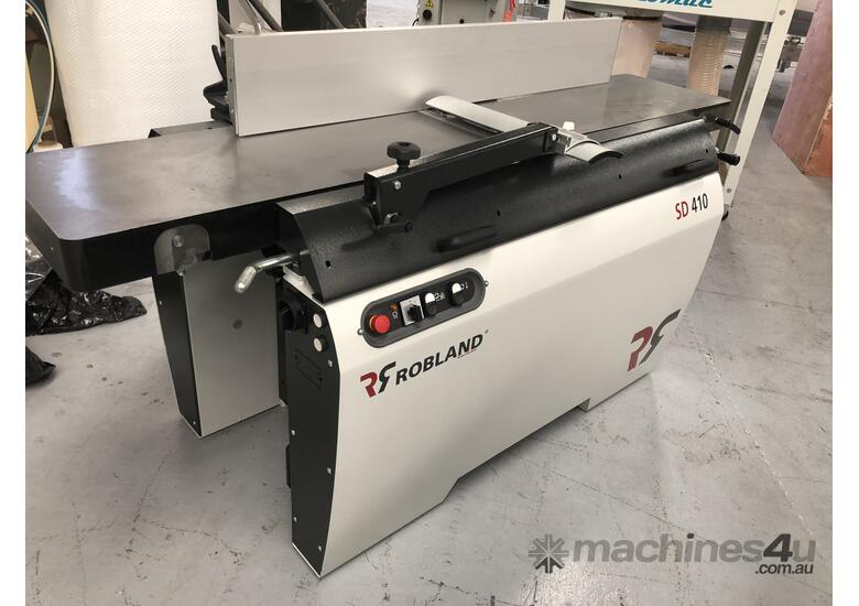 ROBLAND HEAVY DUTY THICKNESSER PLANER COMBINATION SD410