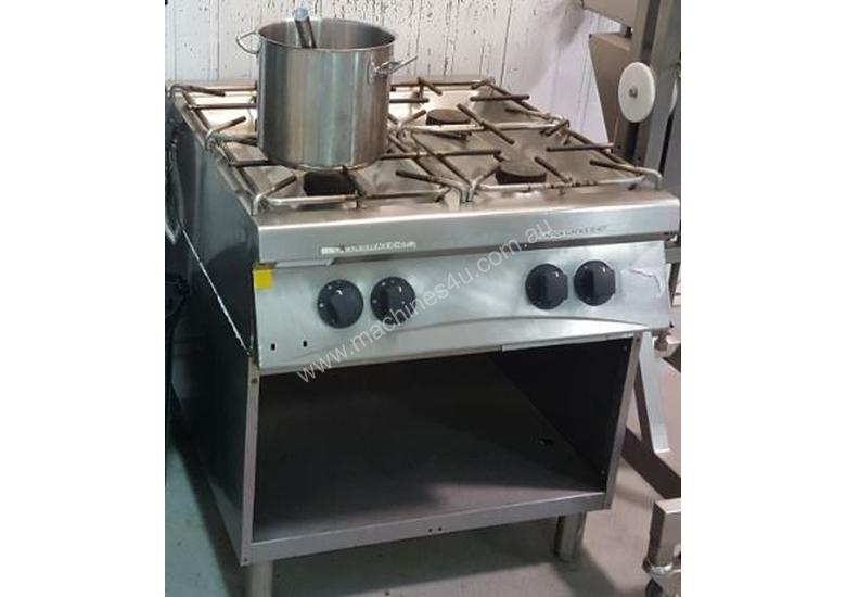 Used Laska Stainless Steel Bowl Cutter Benches And Stove