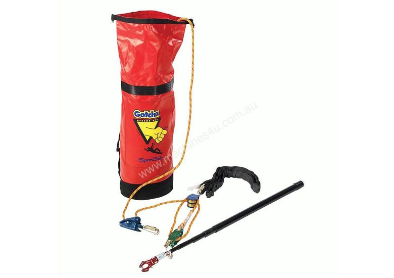 GOTCHA KIT POST-FALL RESCUE 75M ROPE Height Safety Fall-Arrest RRP$2,310