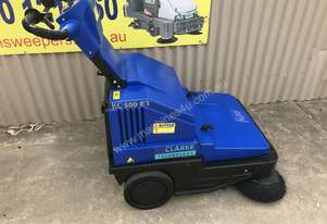 Clarke / Nilfisk Alto Battery powered walk behind sweeper