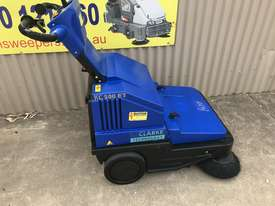 Clarke / Nilfisk Alto Battery powered walk behind sweeper - picture0' - Click to enlarge