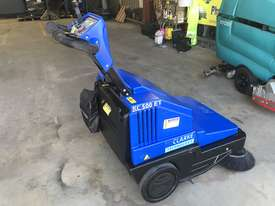 Clarke / Nilfisk Alto Battery powered walk behind sweeper - picture10' - Click to enlarge