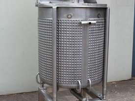 Dimple Jacketed Mixing Tank - picture1' - Click to enlarge