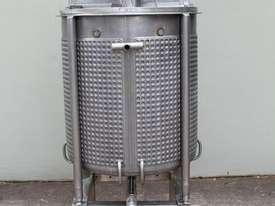 Dimple Jacketed Mixing Tank - picture2' - Click to enlarge