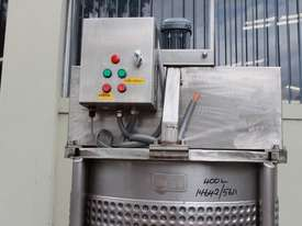 Dimple Jacketed Mixing Tank - picture3' - Click to enlarge