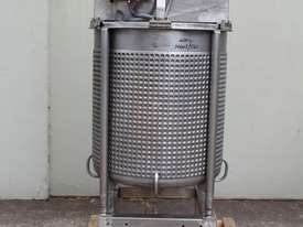 Dimple Jacketed Mixing Tank - picture5' - Click to enlarge