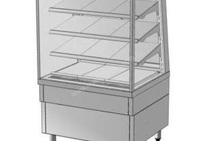 Culinaire CR.FD.T1.NS.L.2400 Refrigerated Food Display - Square Glass 2400mm