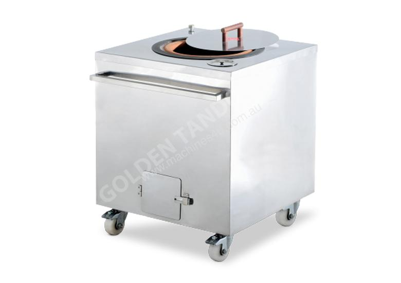 Semak GT-810 Charcoal Tandoor Stainless Steel Square Oven 81Cm