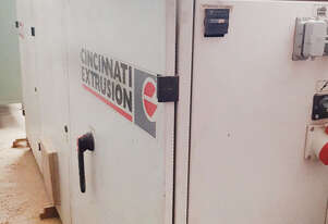 Cincinnatti TITAN 80F-APC Conical Twin Screw Extruder