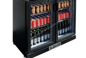 Polar Double Hinge Door Back Bar Chiller 870mmH AUS PLUG