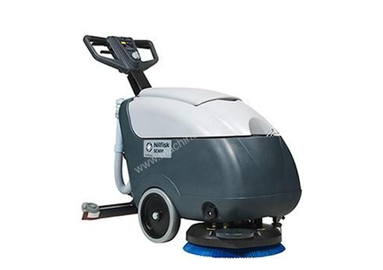 Walk Behind Scrubber/Dryer- SC400 Electric