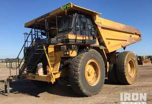 1992 Cat 777B Off-Road End Dump Truck