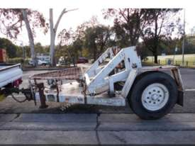Cable trailer self loader - picture0' - Click to enlarge