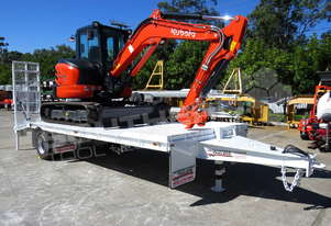 U55 excavator combo with 9 Ton Tag Trailer MACHEXC