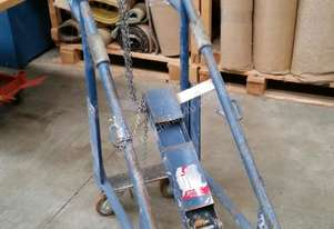 Welders Gas Bottle Trolley