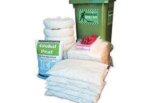 Organic Oil & Fuel Spill Kit. 330L absorbent capacity