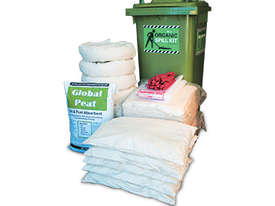 Organic Oil & Fuel Spill Kit. 330L absorbent capacity - picture0' - Click to enlarge