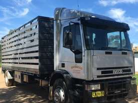 Iveco EuroCargo Stock/Cattle crate Truck - picture0' - Click to enlarge